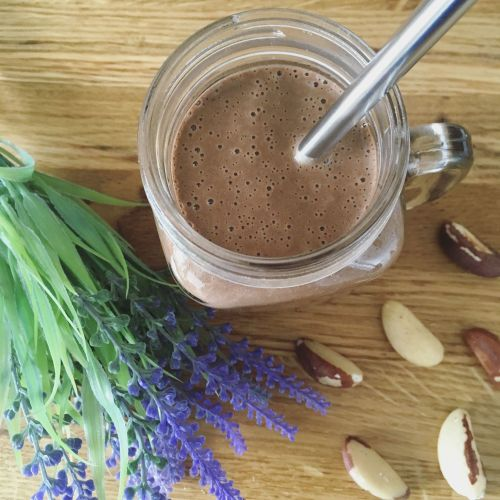 Peanut Butter & Brazil Nut Smoothie