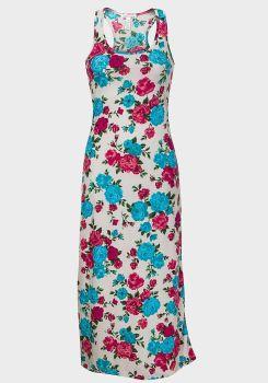 Size L Floral Maxi Dress