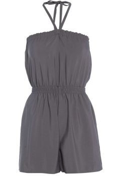 Size 8 Grey Necktie Playsuit