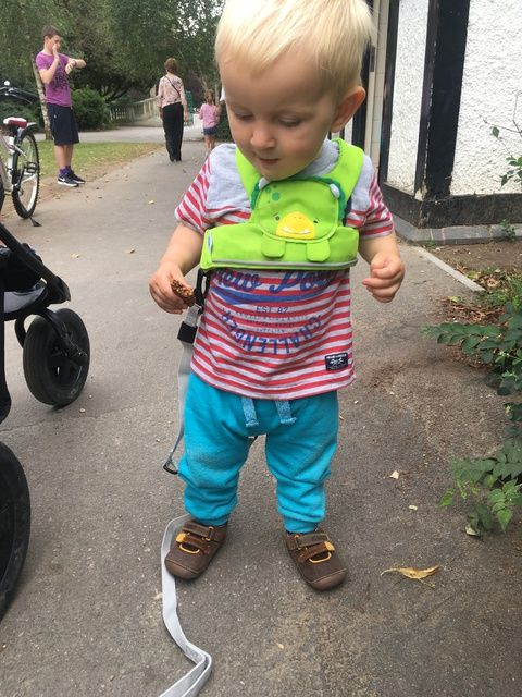 Trunki ToddlePak Review Lylia Rose Blog Dudley Dinosaur Toddler Reins Harne