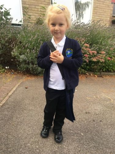 Bella's First Week at School on the Lylia Rose UK lifestyle blog