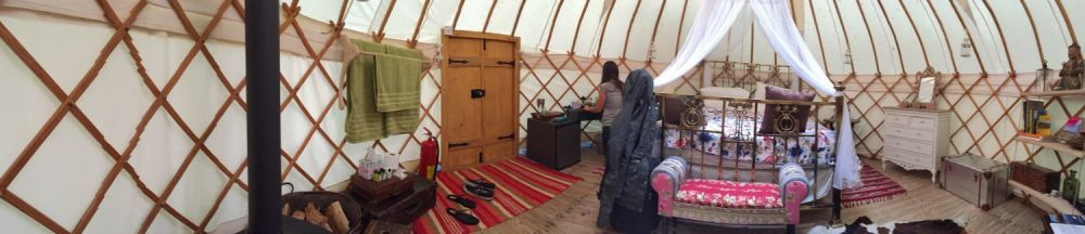 romantic yurt for two michaelchurch escley (2)
