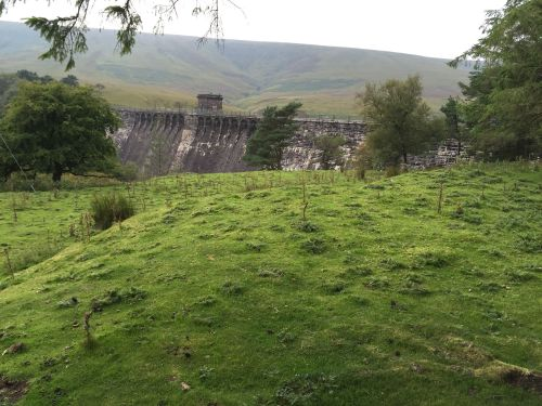 Grwyne Fawr Dam & Reservoir in the Black Mountains, Wales (5)
