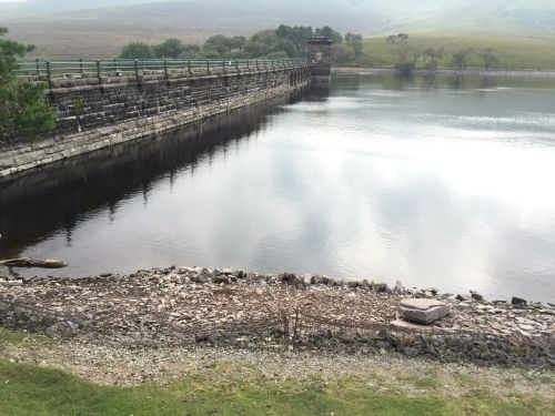 Grwyne Fawr Dam & Reservoir in the Black Mountains, Wales (7)