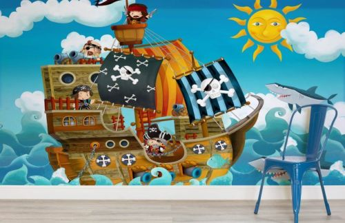 Murals Wallpaper A fun and easy way to makeover a childs bedroom lylia ros