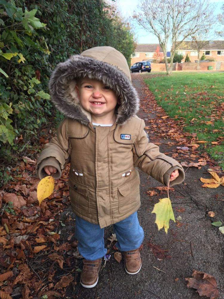 Reuben is so cute!  Nursery settling in update on the Lylia Rose UK lifestyle blog