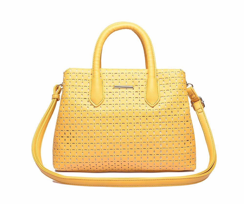 win a lylia rose yellow cutwork handbag giveaway fashion