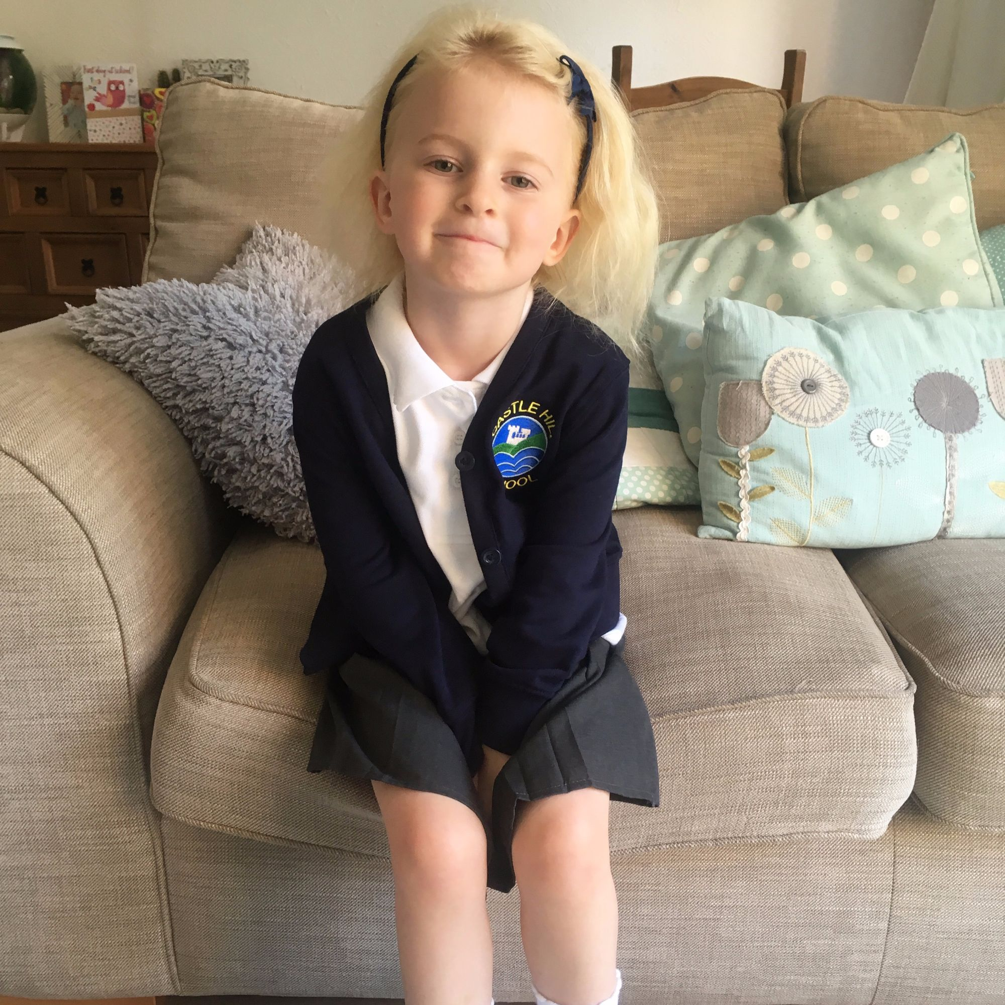 The day I sent my daughter to school without school uniform on the lylia ro