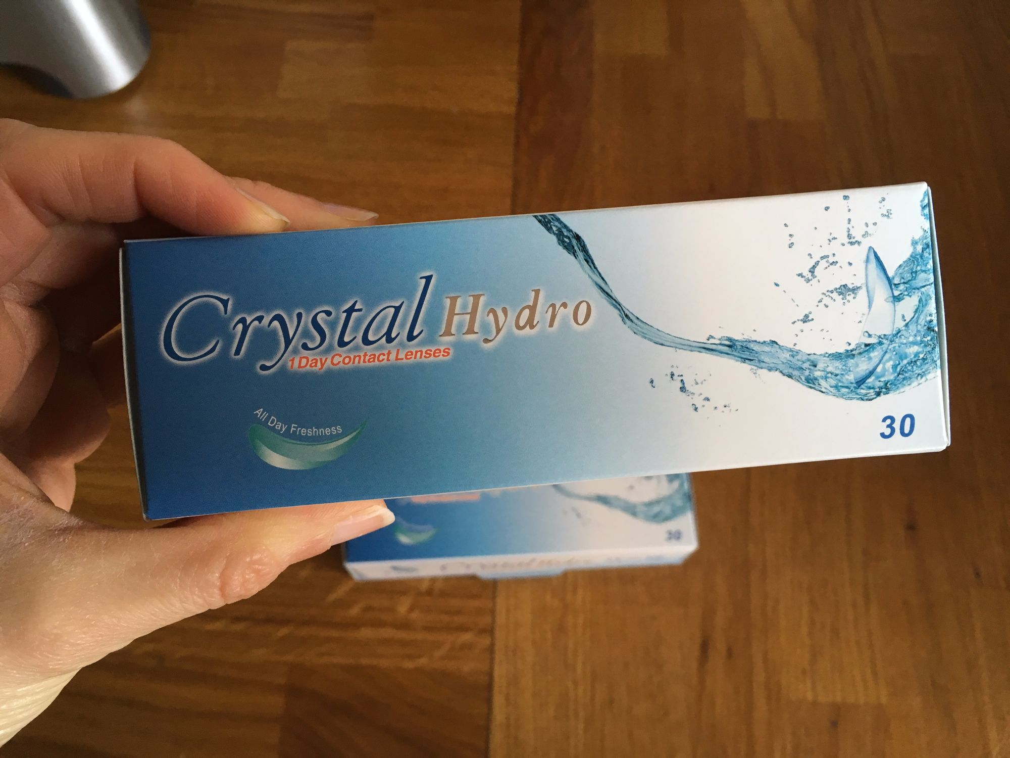 Review of Crystal Hydro Daily Contact Lenses Lylia Rose UK Lifestyle Beauty