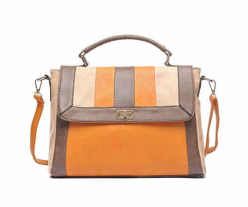win orange satchel handbag prize giveaway blog