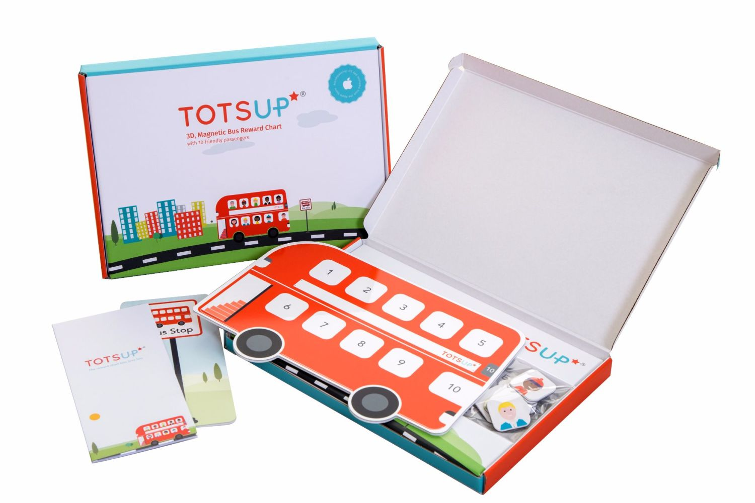 TotsUP blog giveaway reward bus chart award winning good behaviour system (