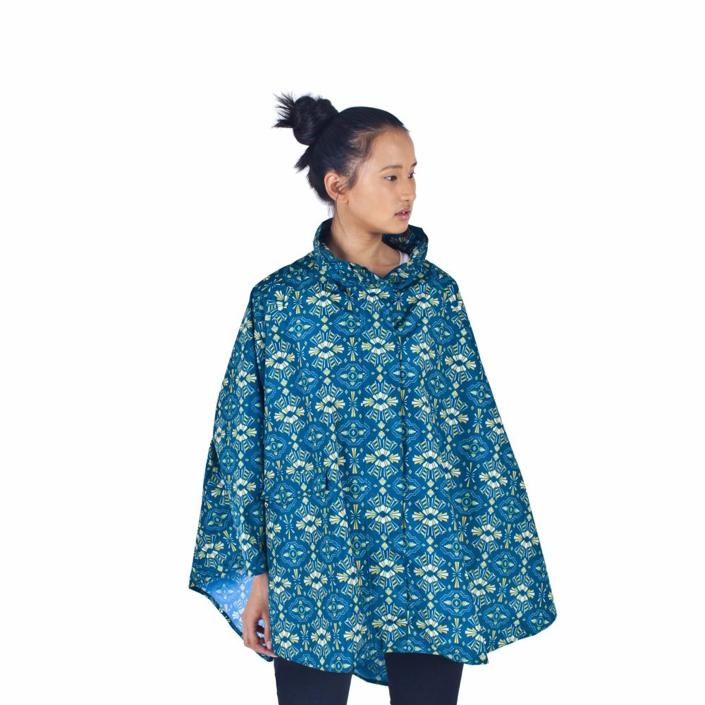 November Rain Waterproof One Size Poncho Tribe Mothers Day Blog Gift Guide