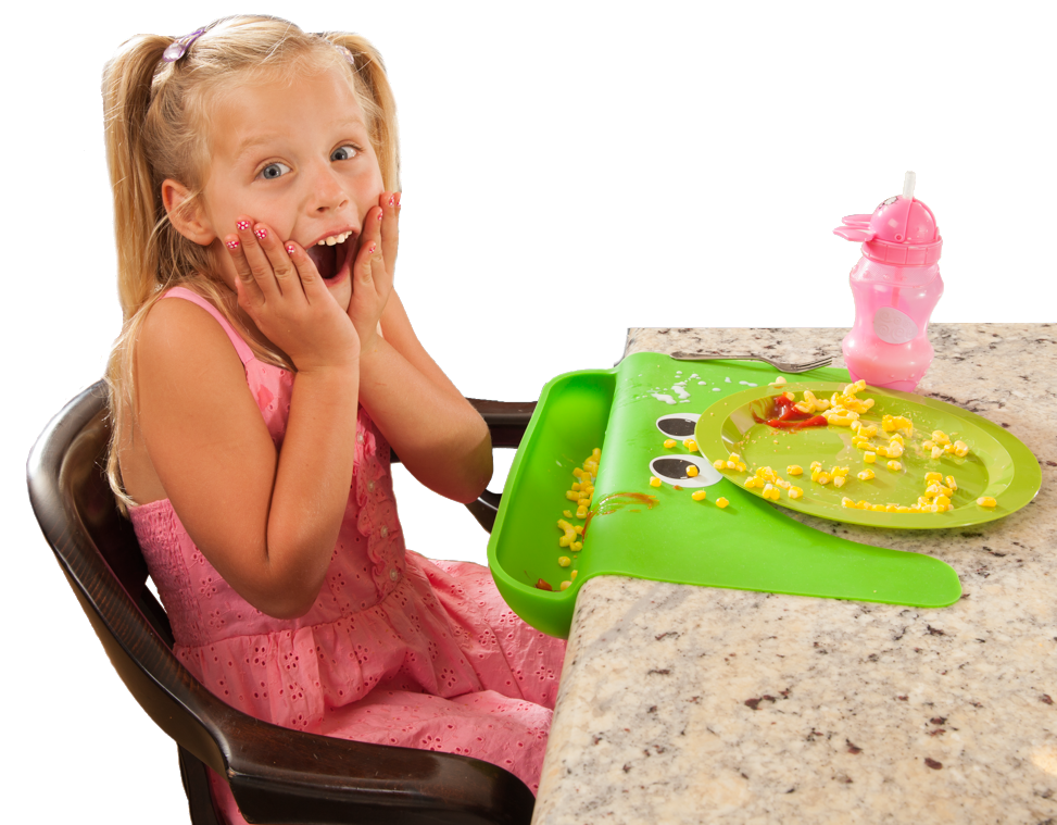 The cibo catch the mess silicone placemat making mealtimes less messy
