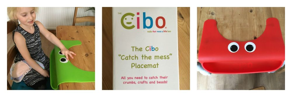 The Cibo Catch The Mess Childrens Placemat Crafts Food Kids