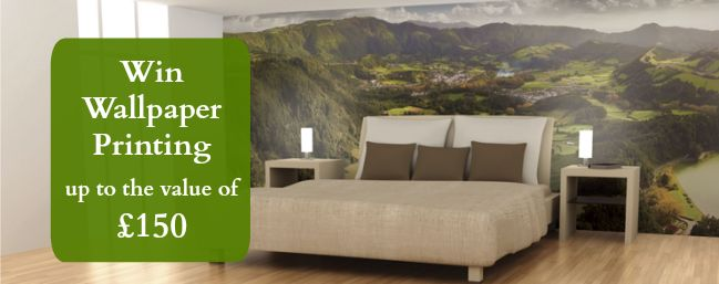 Win 150 worth of wallpaper printing from colour graphics on lylia rose uk l