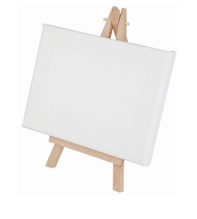 mini canvas easel kids craft ideas easy cheap easter holidays the works