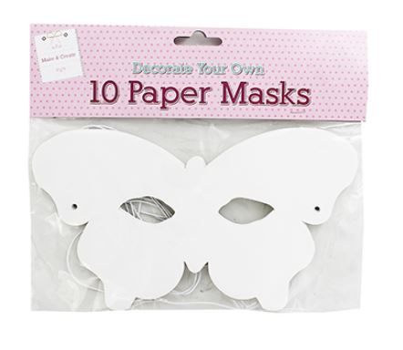 decorate paper butterfly masks kids party crafts cheap easy ideas easter ho