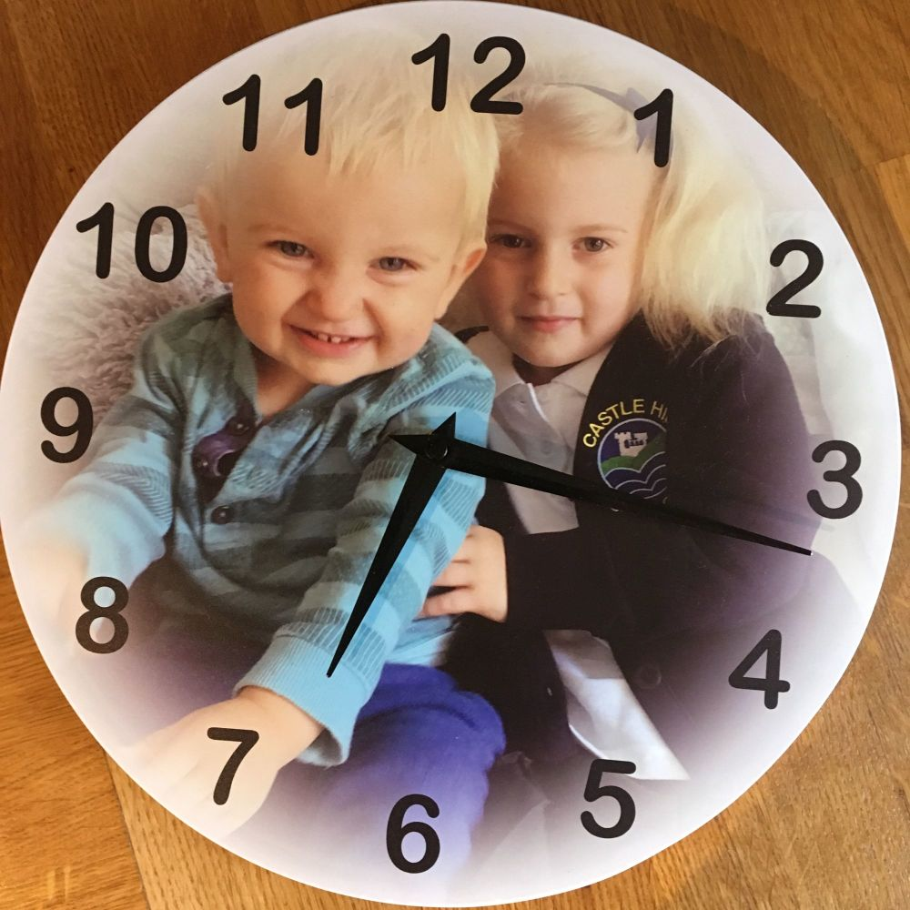 imagise review personalised custom photo clock children uk lifestyle blog