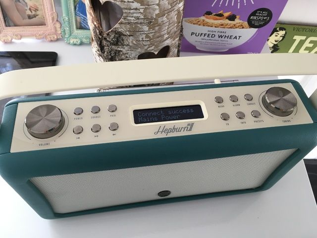 Teal VQ Hepburn Mk II DAB Radio Bluetooth Speaker Review Bloggers