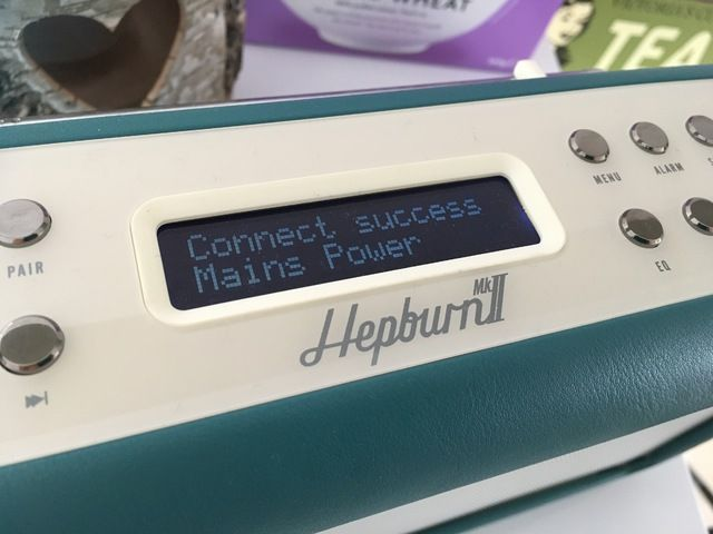 Teal VQ Hepburn Mk II DAB Radio Bluetooth Speaker Review Blogger