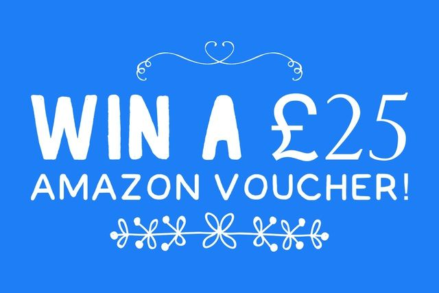 win a 25 pound amazon gift voucher to spend on holiday books with thanks to
