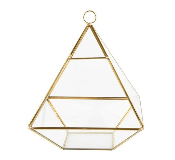 sass and belle brass pyramid terrarium lylia rose wishlist blog giveaway
