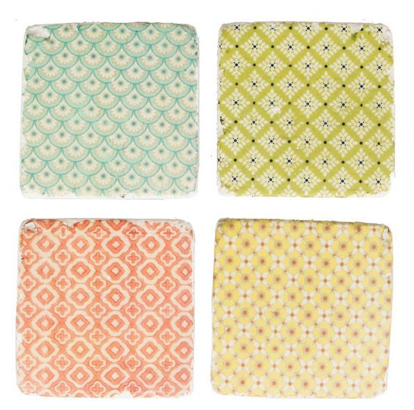 sass and belle lylia rose wish list blog giveaway morroco tile coasters