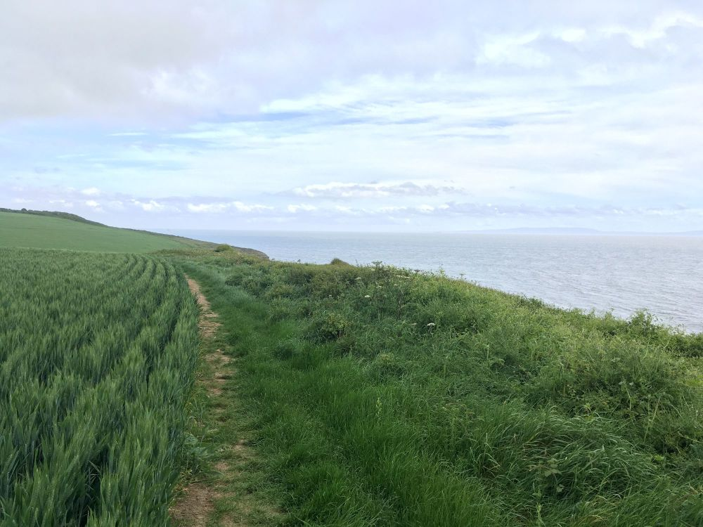 A Kid Free Camping Trip to the Vale of Glamorgan - llantwit major beach aco