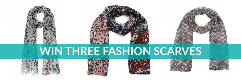Win Three Fashion Scarves