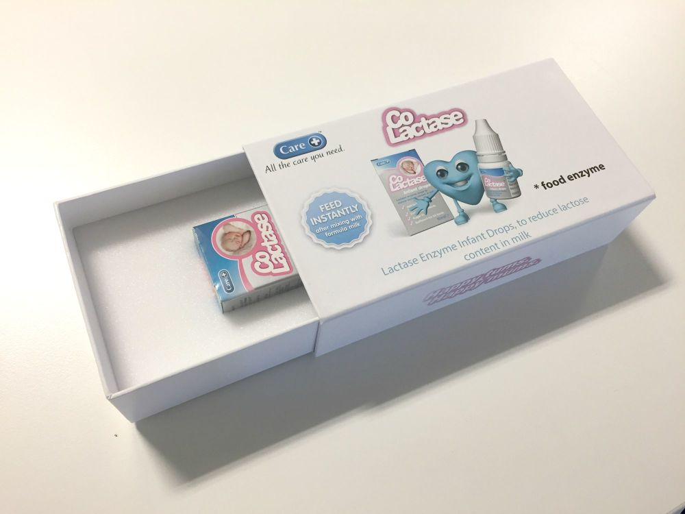 Blog Giveaway - Win a Branded Box of Care Co-Lactase Infant Drops