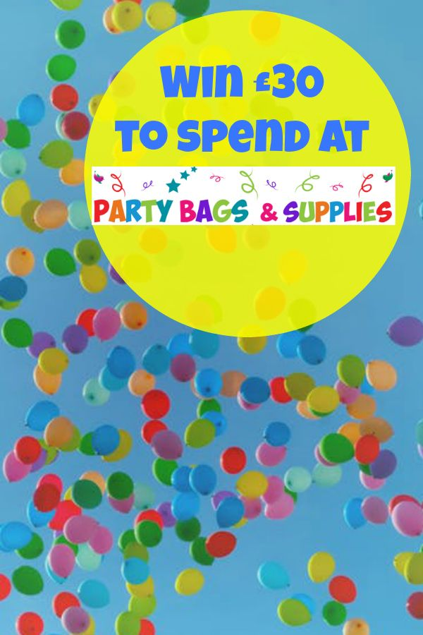 Win 30 to spend at party bags and supplies in my blogger giveaway