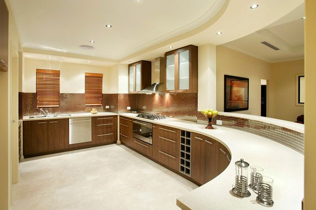 round house design Unusual kitchen spaces a peek at some tough kitchen desi