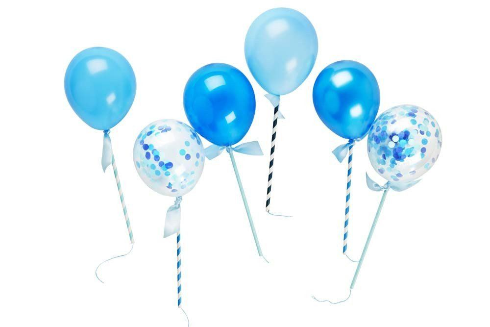 Beautiful Blues Balloon Pops by Poppies for Grace Lemonade Occasions (1)