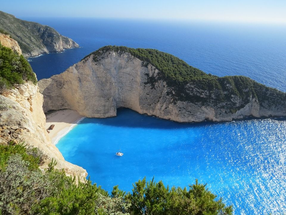 Zakynthos Travel Bucket List Greek Island Hopping Boats, turquoise seas, su