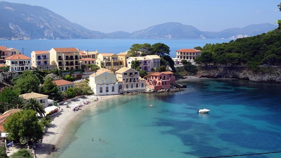 Kefalonia - Travel Bucket List Greek Island Hopping Boats, turquoise seas,
