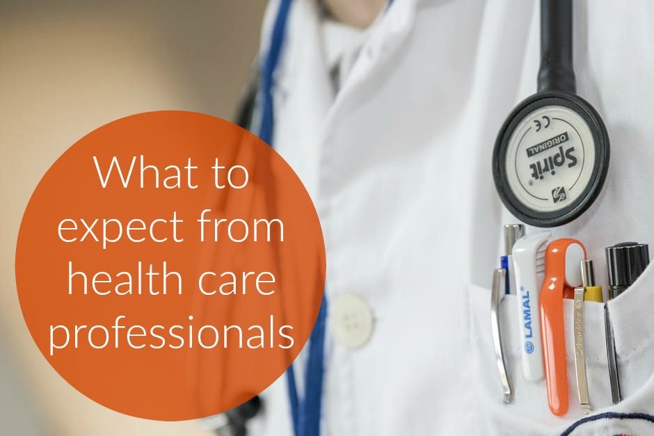 What to expect from health care professionals twitter