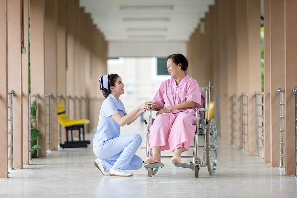 caring nurse What to expect from health care professionals