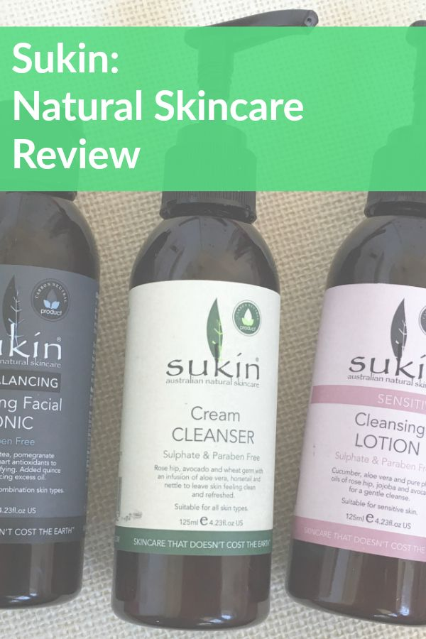 sukin natural skincare review