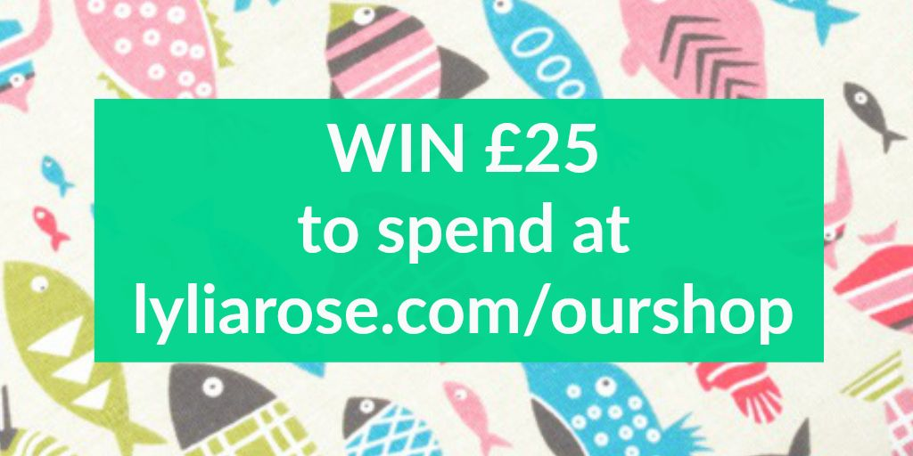 win a £25 gift voucher lylia rose giveaway