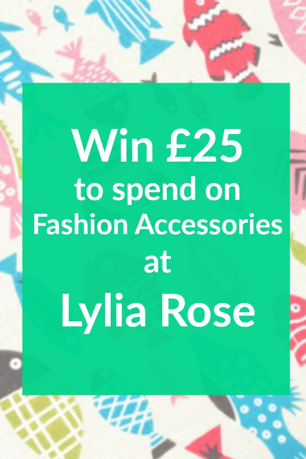 win £25 to spend on fashion accessories at lylia rose