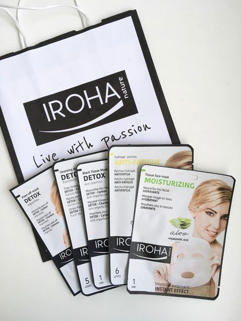 Iroha natural beauty blog review intensive at home face treatments