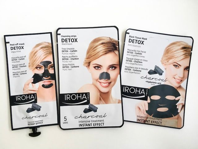 Iroha natural beauty blog review intensive at home face treatments charcoal