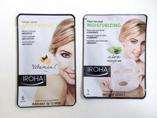Iroha natural beauty blog review intensive at home face treatments anti fat
