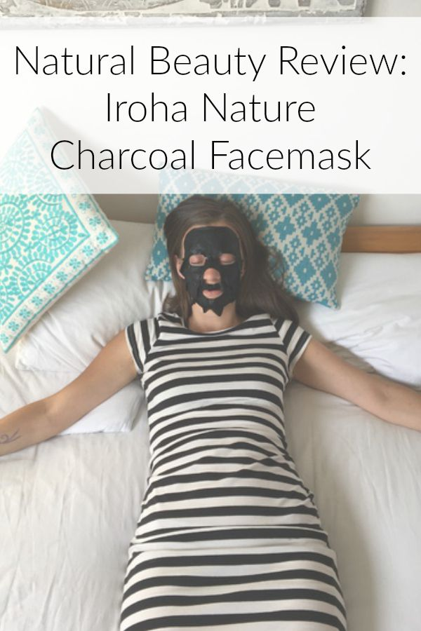 Natural Beauty Iroha Nature Charcoal Tissue Facemask Review Pin
