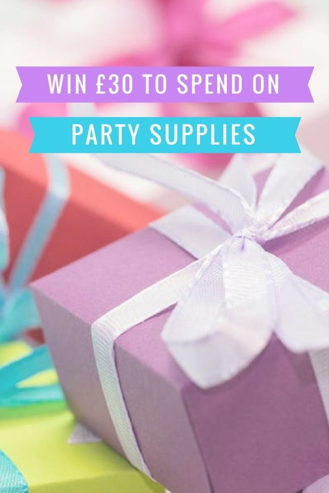 Win £30 to spend on party supplies july 2017 blog giveaway lylia rose