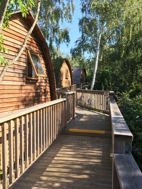 wigwams A Kid Free Weekend Hot tub glamping and zip wire fun at Chepstow Qu