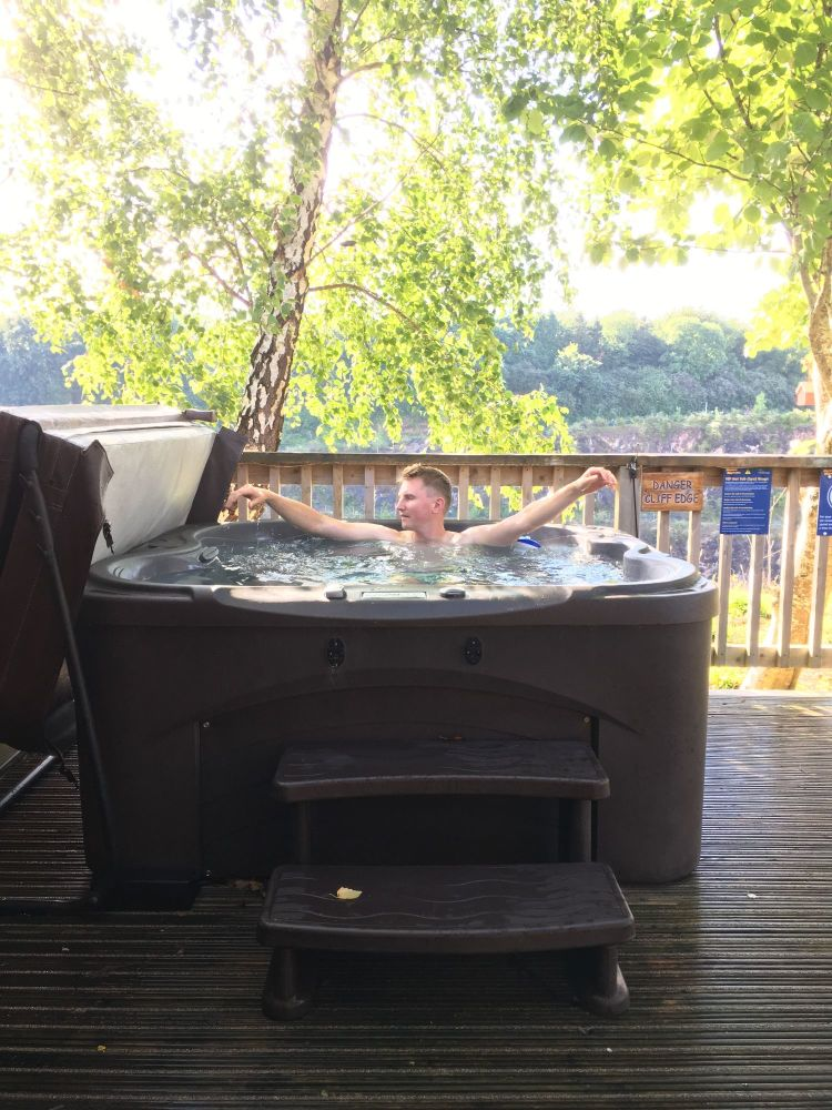 hot tub wigwam glamping A Kid Free Weekend Hot tub glamping and zip wire fu