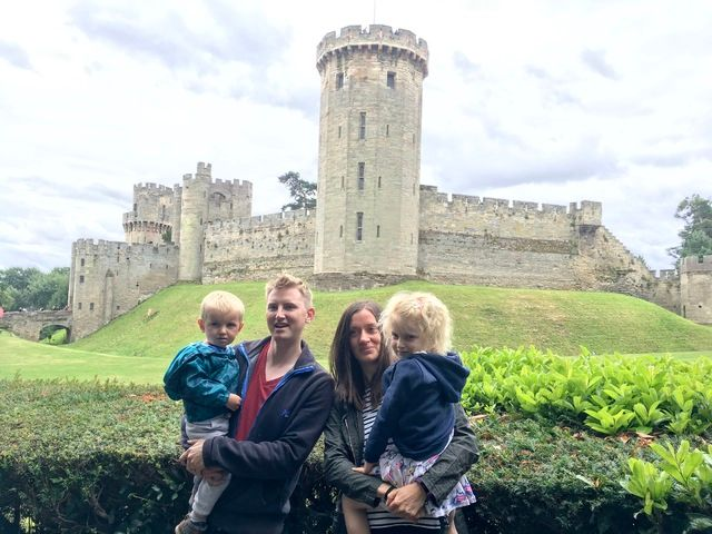 Warwick Castle - Lylia Rose Monthly Family Roundup What we got up to in Jul