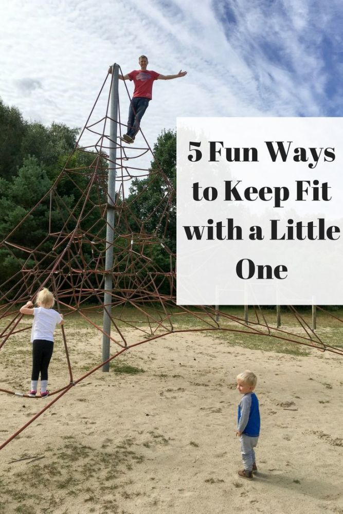 5 Fun Ways to Keep Fit with a Little One PIN