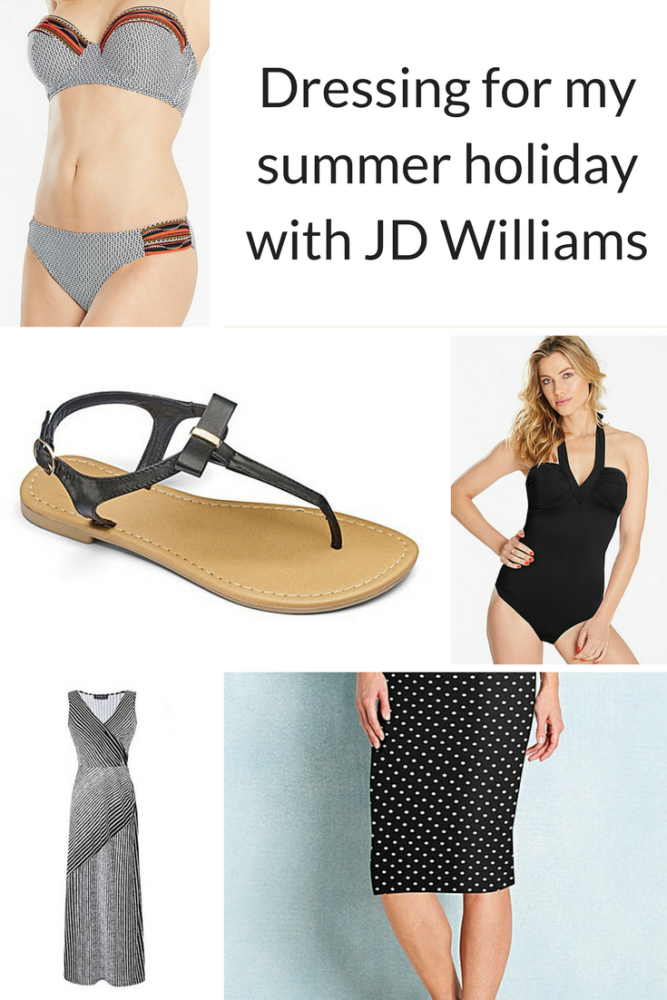 Dressing for my summer holiday with JD Williams pin